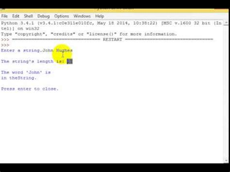 What Is L Programming by Python 3 Programming Tutorial 18 Len Function And In