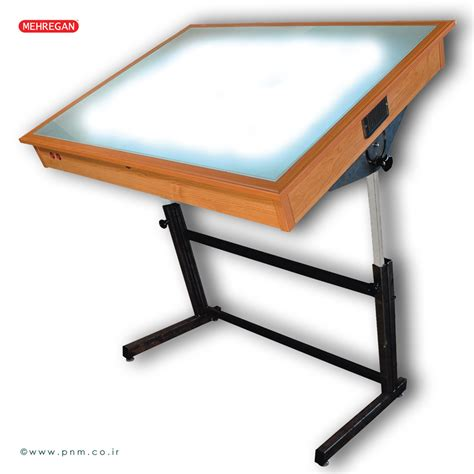 Drafting Table With Lightbox Trace Light Tables
