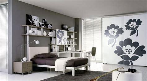 desain kamar tidur unik hitam  putih rancangan desain
