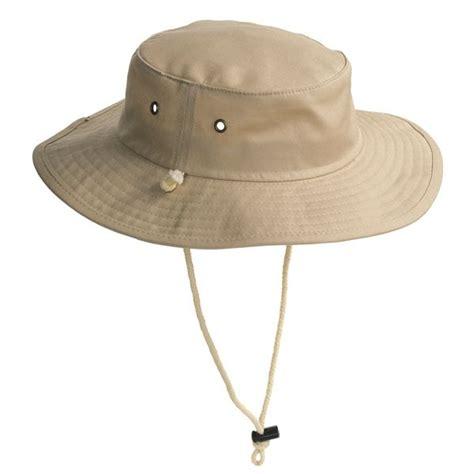 cov ver outback safari hat water repellent cotton canvas