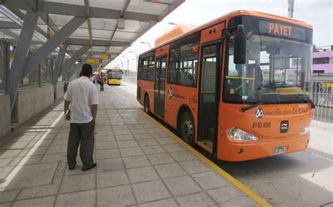 alimentadores metropolitano naranjal metro de lima horizonte 2025 buses alimentadores de el