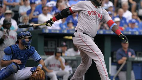 david ortiz climbs all time home run list as sox rout