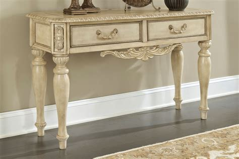 sofa table design antique white sofa table most