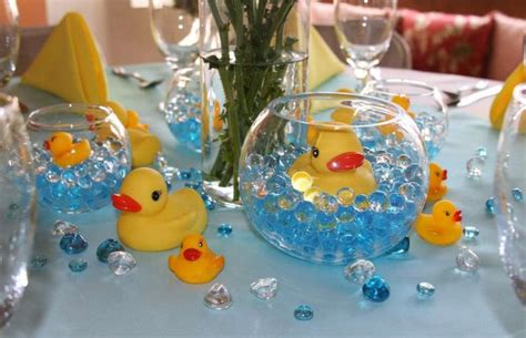 ducky centerpieces for baby showers best 25 ducky baby showers ideas on rubber