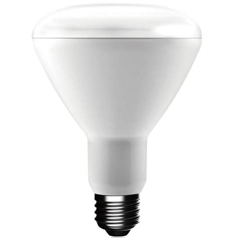 who makes ecosmart light bulbs ecosmart 65w equivalent white br30 dimmable led light