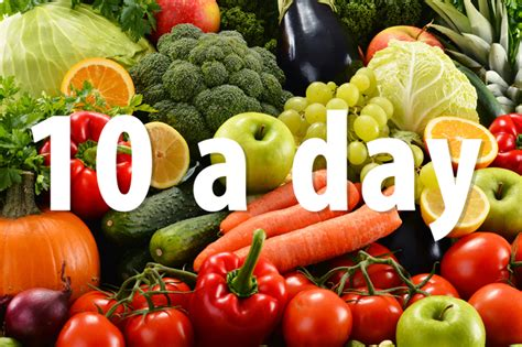 vegetables per day trying to eat 10 a day of fruit and veg here are 8 tips