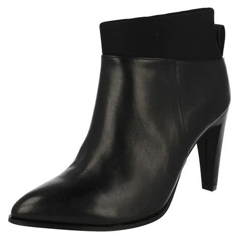 clarks heeled ankle boots azizi posey ebay
