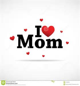 i love mom icon royalty free stock images image 21598459