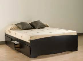Platform beds with storage plans feel the home