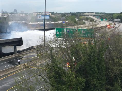 atlanta airport smoking section atlanta interstate collapse and fire why there were no