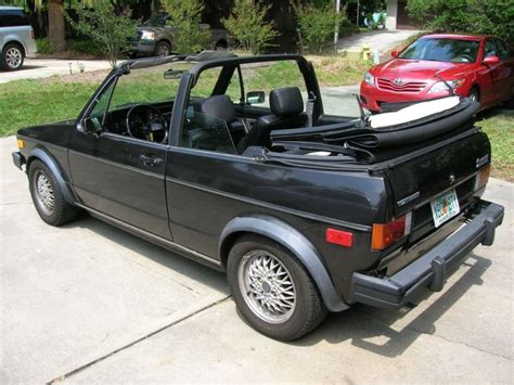 volkswagen rabbit convertible for sale 1984 vw callaway rabbit convertible driver german cars