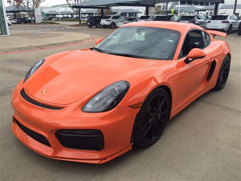 porsche cayman orange gt4 colours page 94 boxster cayman pistonheads