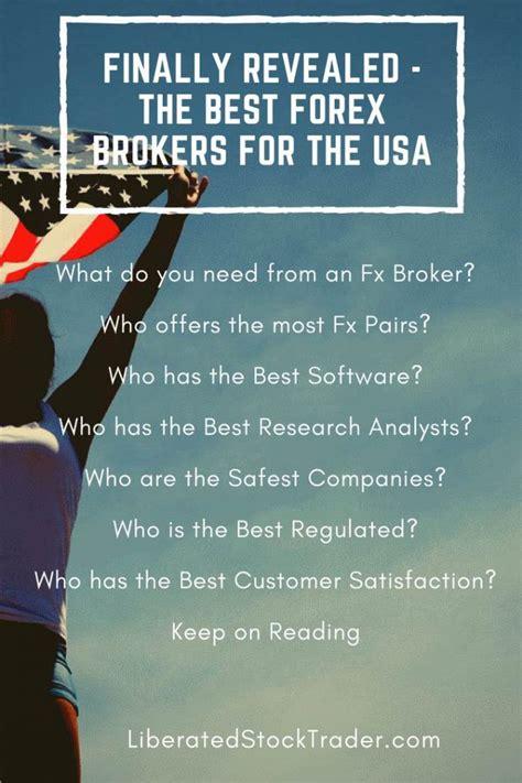 forex best brokers top 5 best forex brokers accepting us clients 2018