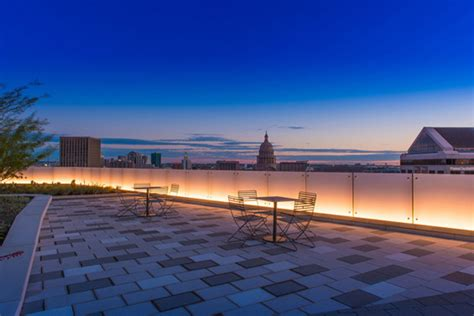 Landscape Architecture Lighting 816 Congress Roof Transformation Dwg Landscape Architecture