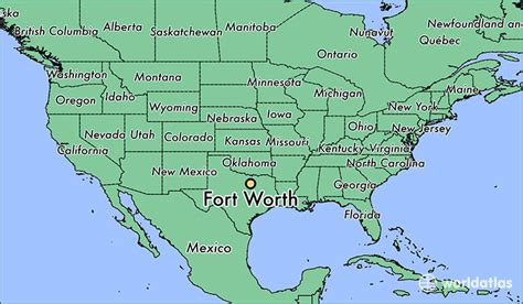 fort worth on texas map where is fort worth tx fort worth texas map worldatlas