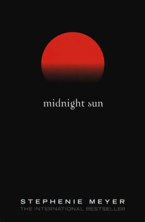 midnight books midnight sun twilight saga wiki