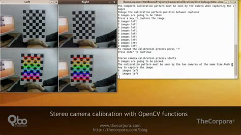 opencv calibration stero calibration with opencv functions