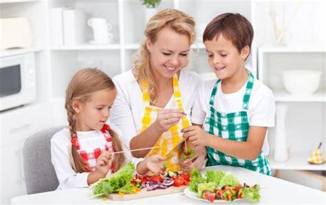 las claves de una alimentacion saludable en los ninos