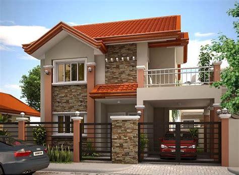 beautiful home designs photos 33 beautiful 2 storey house photos model house in 2019 modern house design house design 2