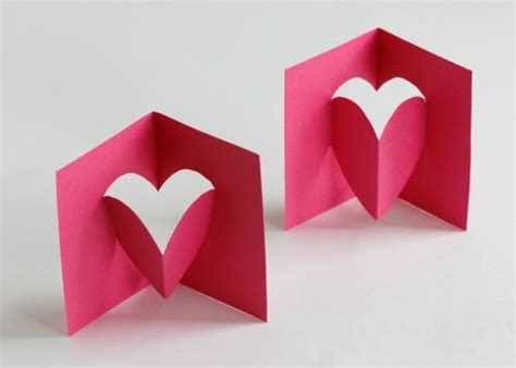 pop out valentine s day card make and takes
