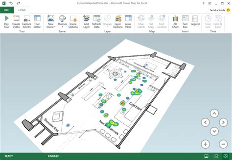 custom maps excel power map september update office blogs