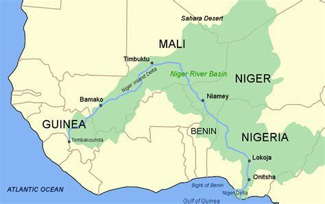 africa map niger river introdu 199 195 o ao meio ambiente environmental introduction