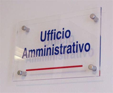 targhe ufficio plexiglass targhe signum
