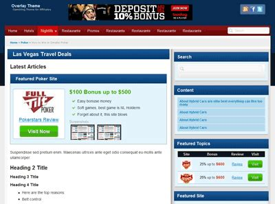 exclusive poker or casino affiliate theme for july 2013