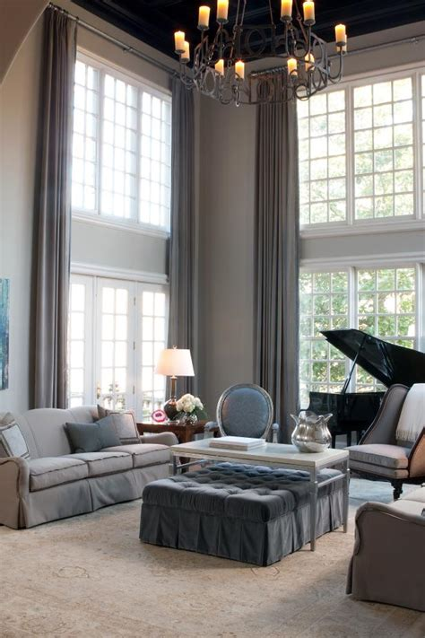 formal living room window treatments photo page hgtv