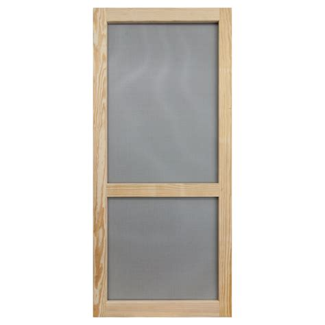 shop screen tight woodcraft natural wood screen door