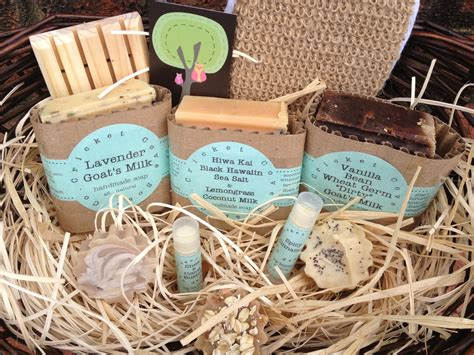 Handmade Soap Gift Baskets - large soap gift basket handmade soap and lip butter gift