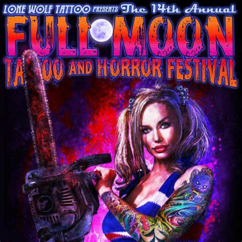 full moon tattoo and horror festival hauntworld