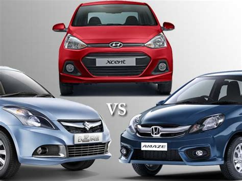 Maruti Suzuki Amaze Price Maruti Dzire 2017 Vs Honda Amaze Vs Hyundai Xcent News Info