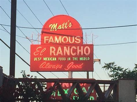 matt s el rancho neon sign picture of matt s el