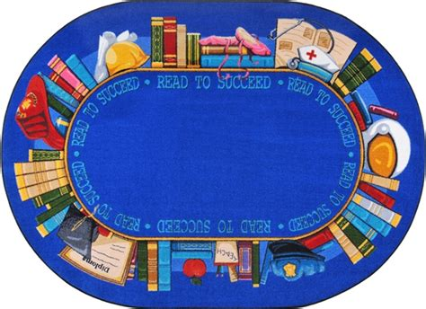 Reading Rug by Read To Succeed Library Rug Jc1438xx Carpets