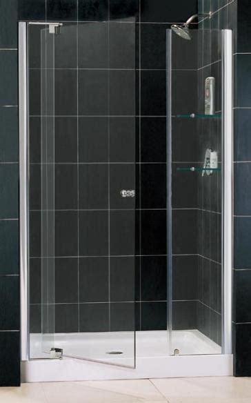 30 Inch Shower Door Dreamline Shdr 4242728 01 30 Inch Pivot Shower Door With 12 Quot Stationary Panel 42 Quot 49 Quot W