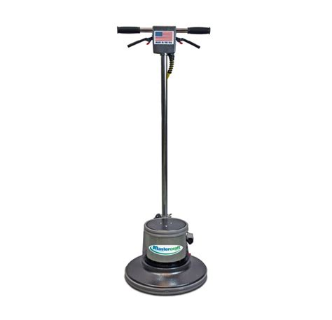 mastercraft 20 inch electric powered rotary floor scrubber