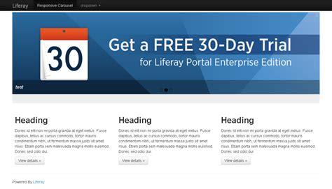 liferay layout bootstrap responsive bootstrap theme