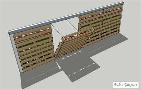 giardino verticale pallet portale casa in 3 mosse