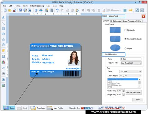 id card software id card maker software generates students faculty etc