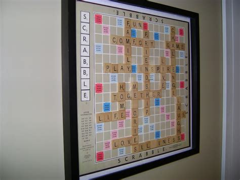 scrabble layout maker our hobby house scrabble wall art