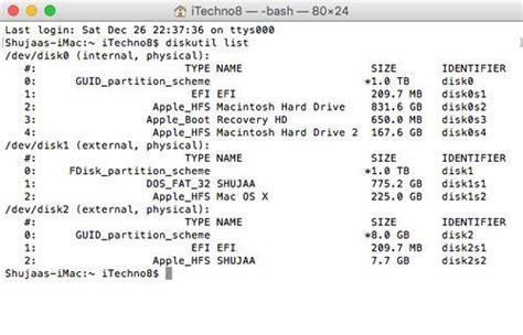 format external hard disk mac terminal how to format an external drive in os x