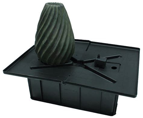 small stacked slate urn fountain kit aquascapes