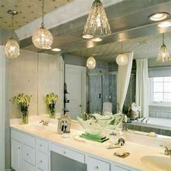 good vintage bathroom lighting #1: appealing-hanging-bathroom-light-fixtures-mini-pendant-lights-lowes-bathroom-design-with-white-vanity-cabinet-and-sink-also-large-mirror-and-bath-wall-sconces.jpg