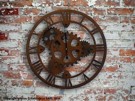 Loft Garage by Horloge Engrenages D 233 Co Industrielle Antic Line Seb12437