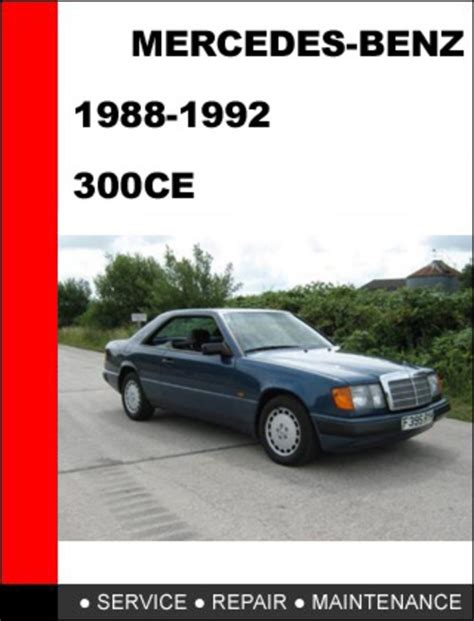 car owners manuals free downloads 1988 mercedes benz e class security system service manual free service manuals online 1992 mercedes benz 300ce lane departure warning
