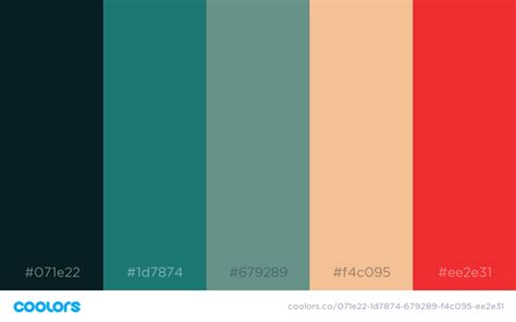 color schemes 34 beautiful color palettes for your next design project