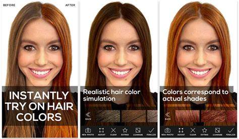 Change Hairstyle App by 3 Apps To Experiment With Your Hair Colour Hair