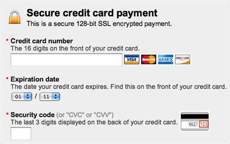 Credit Card Format Code Fundamental Guidelines Of E Commerce Checkout Design Smashing Magazine
