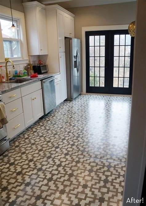 6 diy kitchen floors updates and renovations to try shelterness